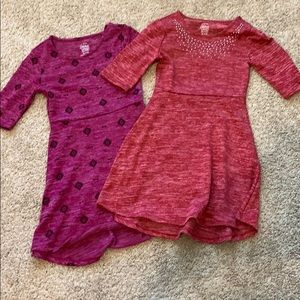Lot of 2 girl's dresses